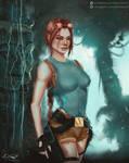 Classic Lara Croft by Eliott-Chacoco