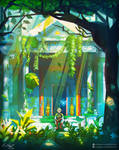 Forest Temple by EliottSontot