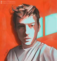 Self-portrait by EliottSontot