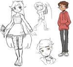 svtfoe sketches
