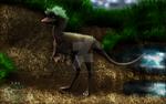 Compsognathus longipes take 2