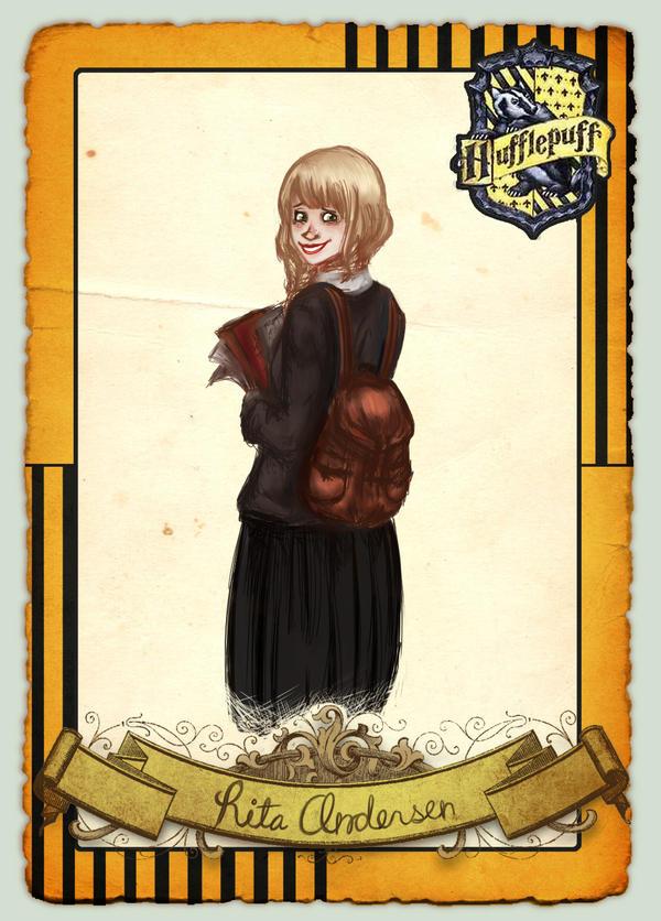 Hogwarts Academy: Rita Andersen by CatAnnabelle