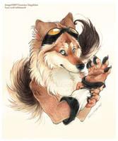 O. Fuzzwolf .O by thassy