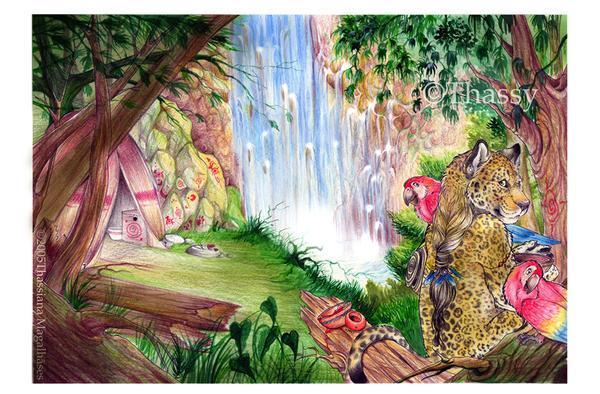 -O- Jaguar's Sanctuary -O- by thassy