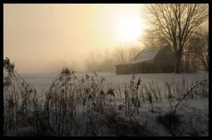 Rual winter farming by MikeysPhotos