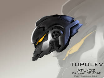 Mecha Head Concept: Tupolev by bcetin
