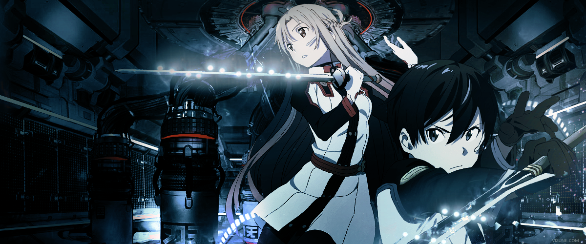 Sword Art Online header by vizune