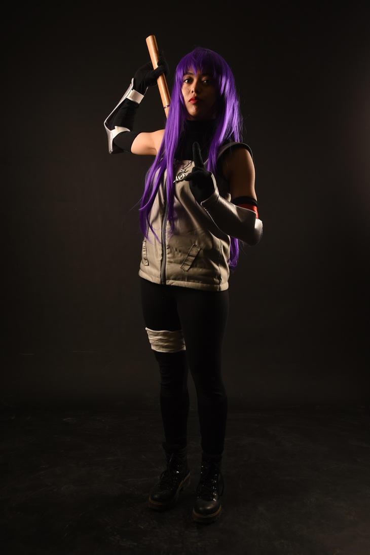 Yugao Uzuki ANBU cosplay by Alika-Chan
