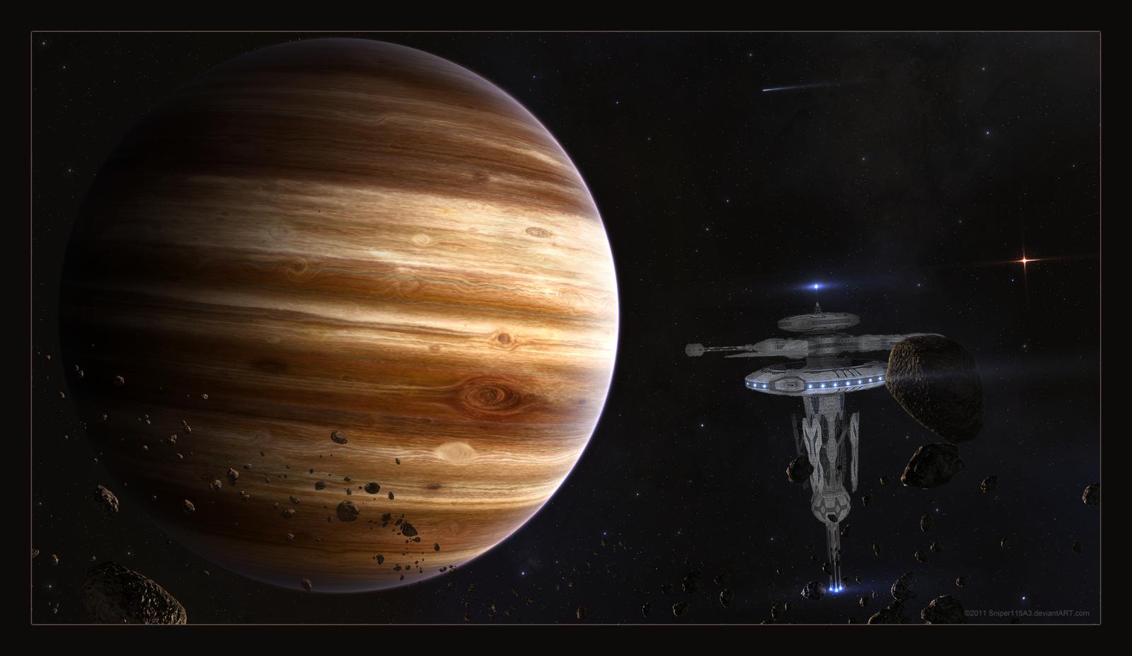 Natural Resource Planet Exploration