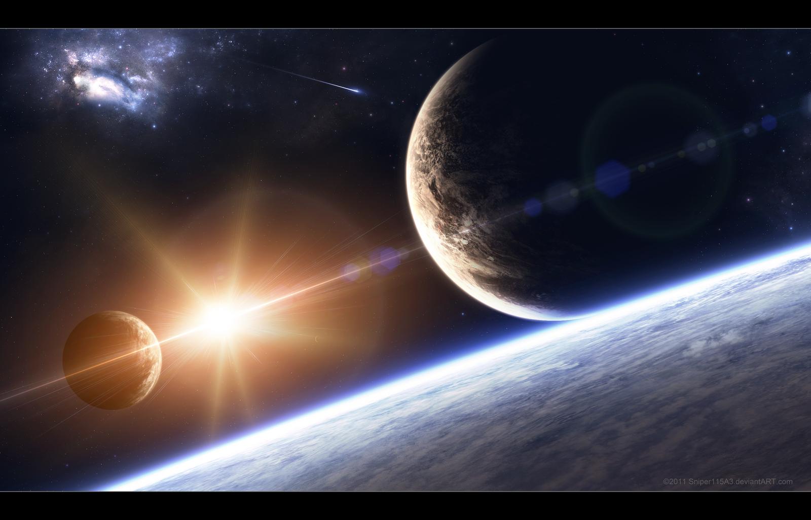 Alien Sunrise by Sniper115A3