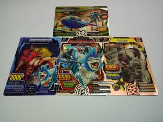 My Great Animal Kaiser Bigger M3 version cards by JerryKhor