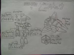 Genkyu RAI-3B-Type Medarot