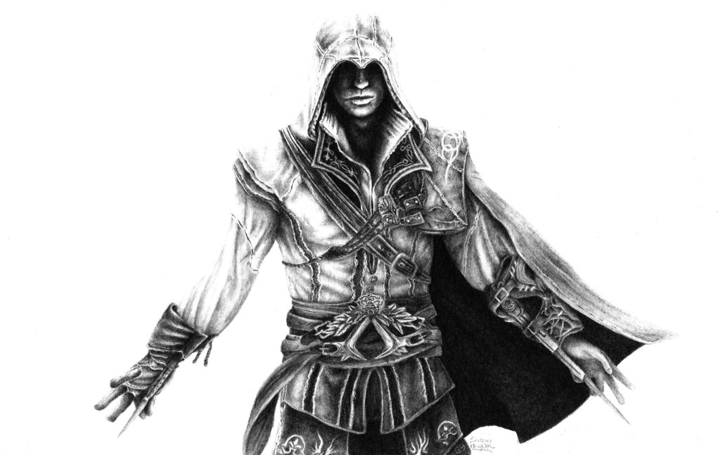 Assassins Creed Drawing By Ralphel321 On Deviantart