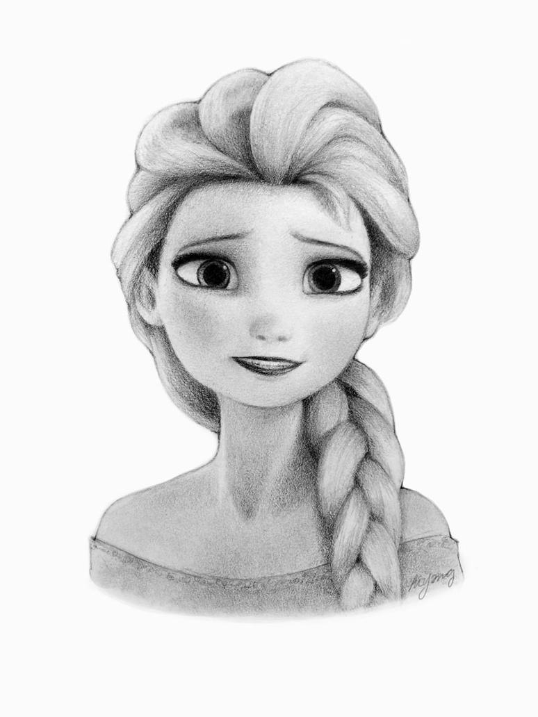 Frozen elsa drawing by ralphel321 on deviantart frozen elsa drawing by ralphel321 voltagebd Image collections