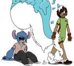 GOO LAB: Pachirisu and Stitch