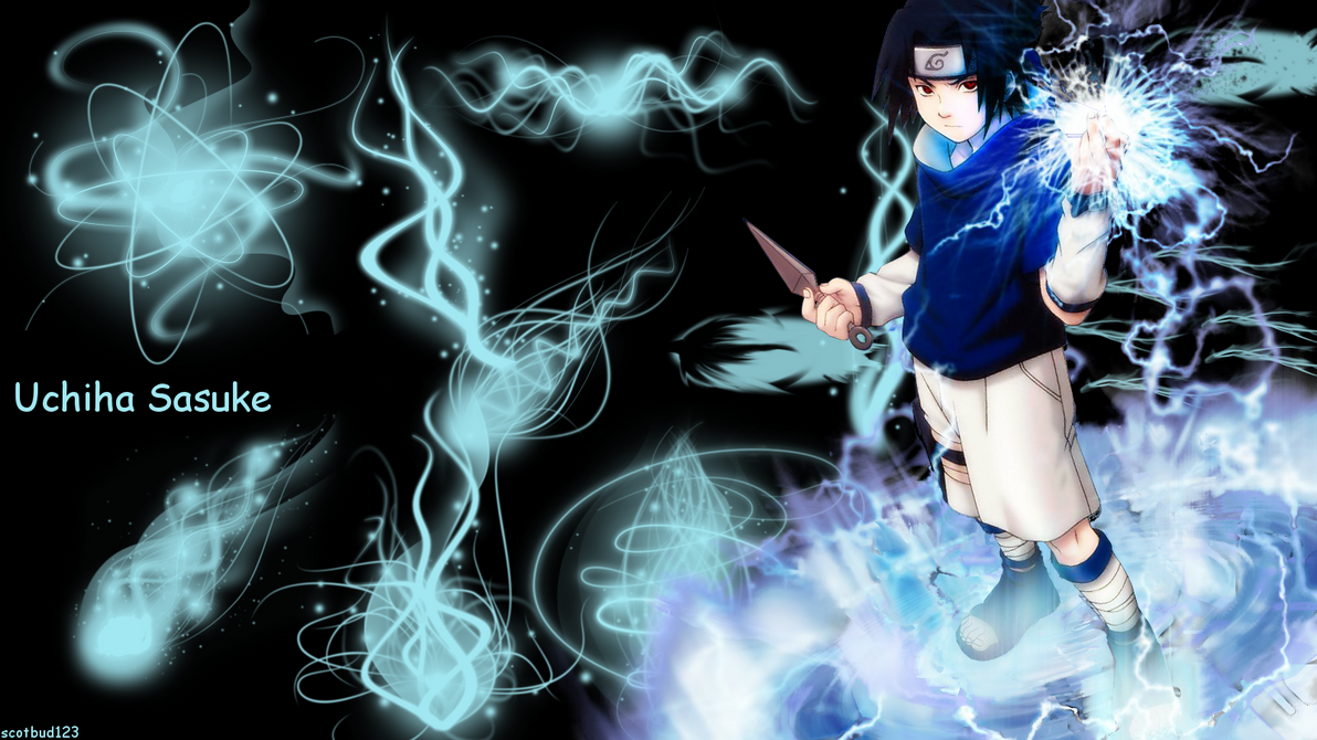sasuke chidori wallpaperscotbud123 on deviantart