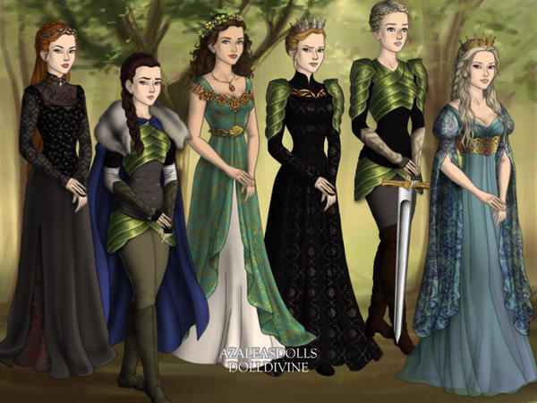 Designer Game of Thrones by Saharacarly