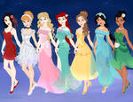 Disney princess Gemstone collection