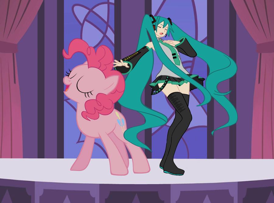 Pinkie-Miku by moonlady85