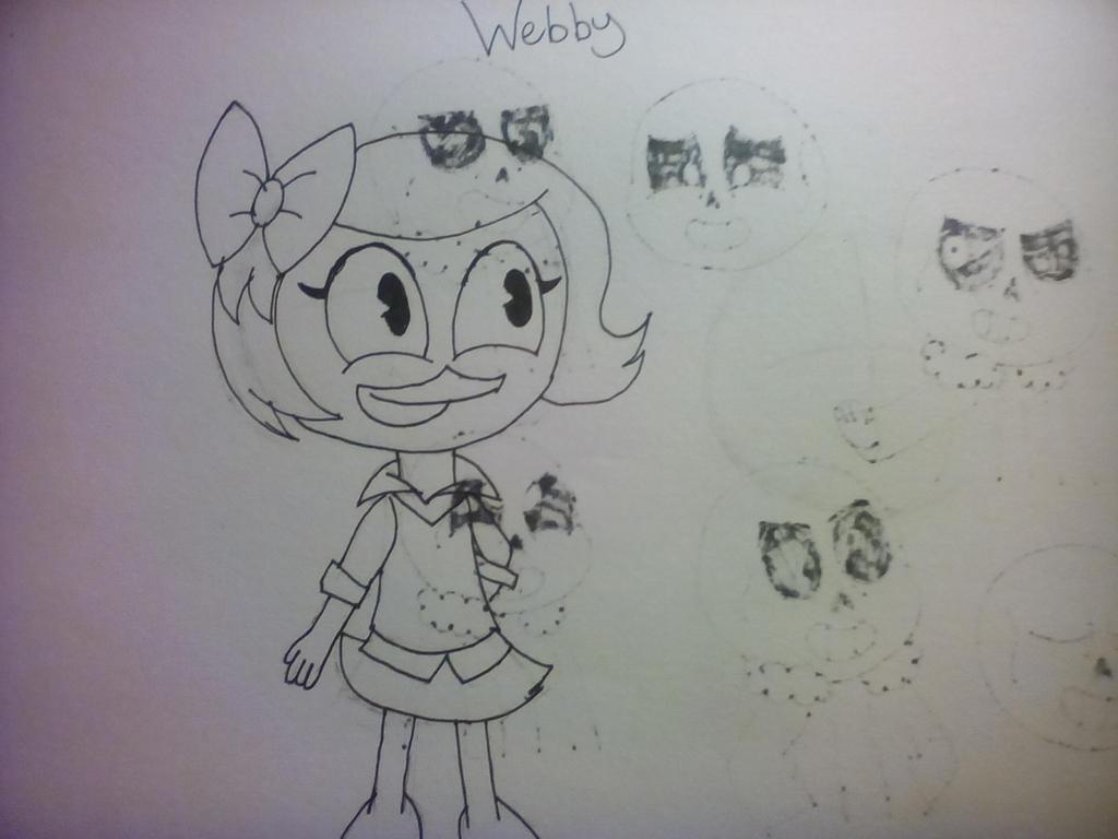 Ducktales-Webby by MilkyWayOreo