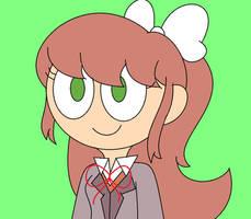 DDLC-Monika by CreativeFoxx13