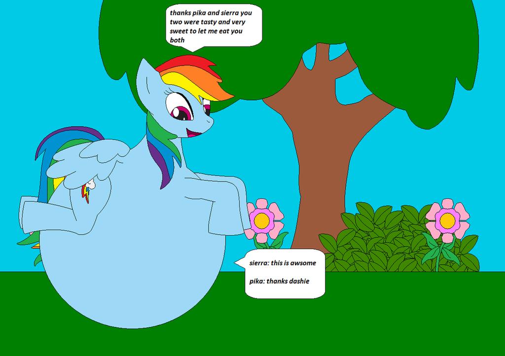 Sonic Burp Vore: Rainbow Dash Hunger V2 By AWVR8888 On DeviantART