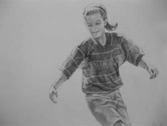 Soccer Girl by cynthiarox66