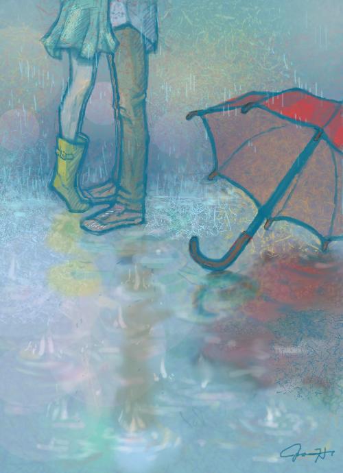 Meet You in the Rain by cynthiarox66