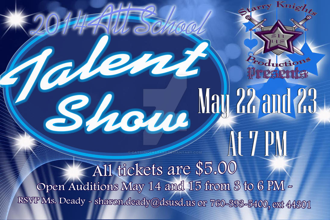 SHHS Talent Show by catsunderstars
