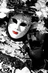 Belle Dame de noir et de blanc by Dante121