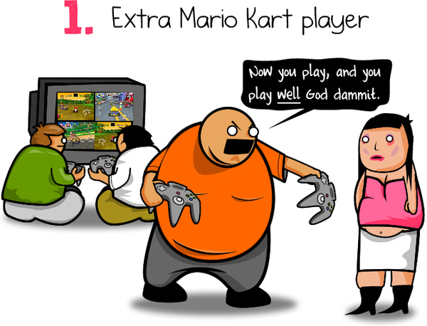 Mario Cart Demands By The Oatmeal On Deviantart