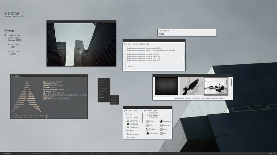 Dyne gtk3 screenshot by thrynk