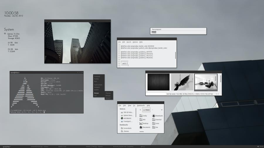 Dyne gtk3 screenshot by thrynk