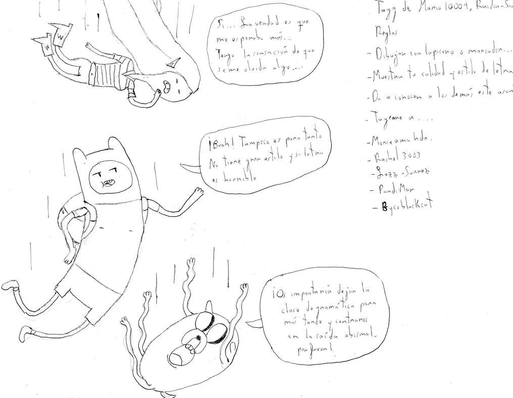 El tag del dibujo by Sergell