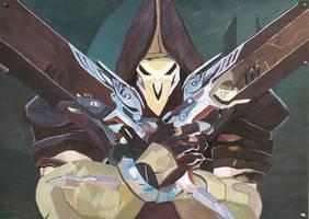 Overwatch Reaper by Sergell