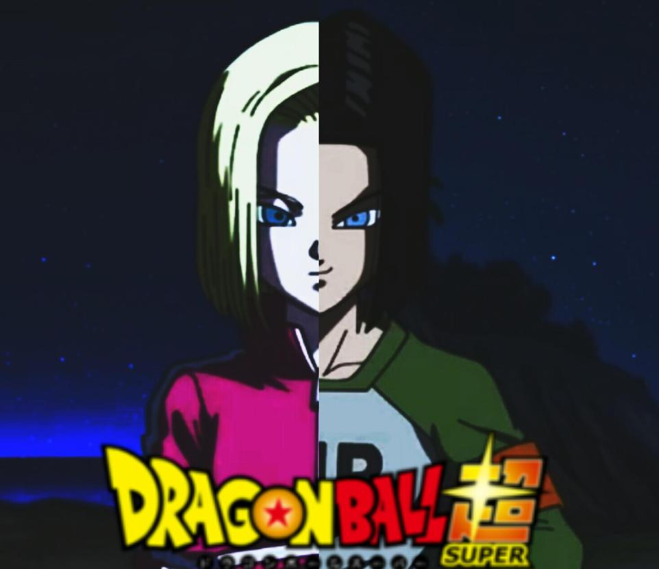 Resultado de imagen para androide 17 y 18 dragon ball super