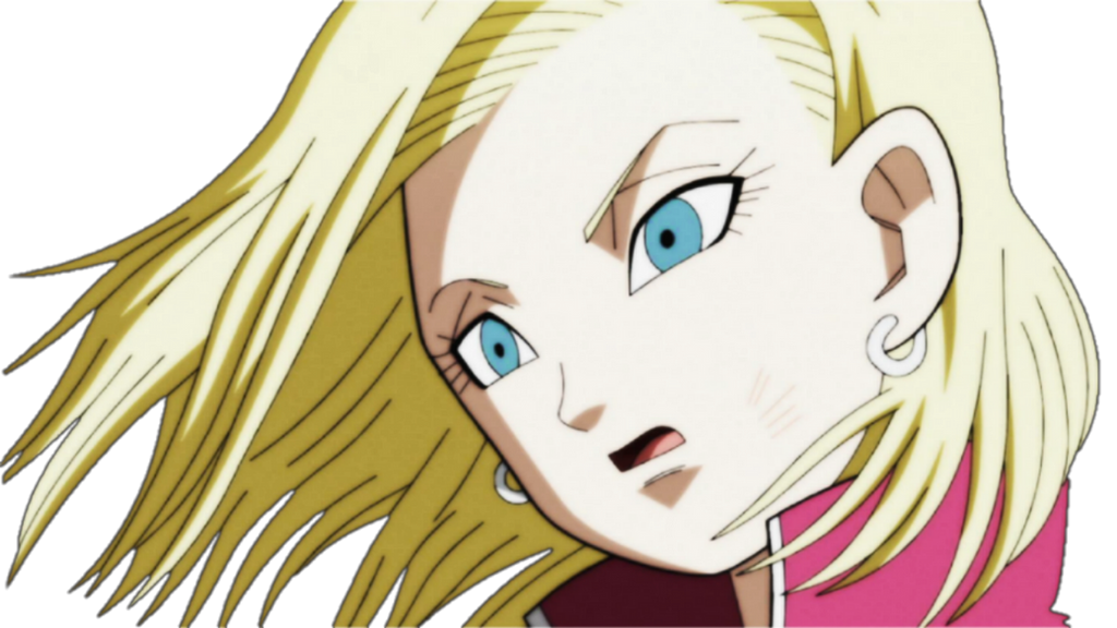 Dragon ball super android 18