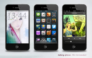 Tahiry iPhone - October by kyle007
