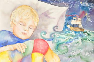 Dreaming wyknen blynken and nod