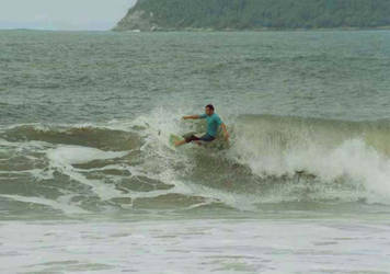 Surfers at Ubatuba-Sao Paulo 3 by Vedder-Tm