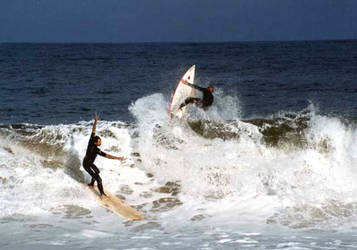 Surfers at Ubatuba-Sao Paulo 5 by Vedder-Tm