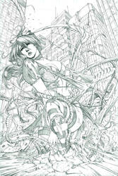 Escape From Wonderland Pencils by SquirrelShaver