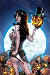 Wonderland Halloween - Black-