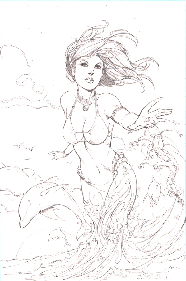 Fathom -pencils- by SquirrelShaver