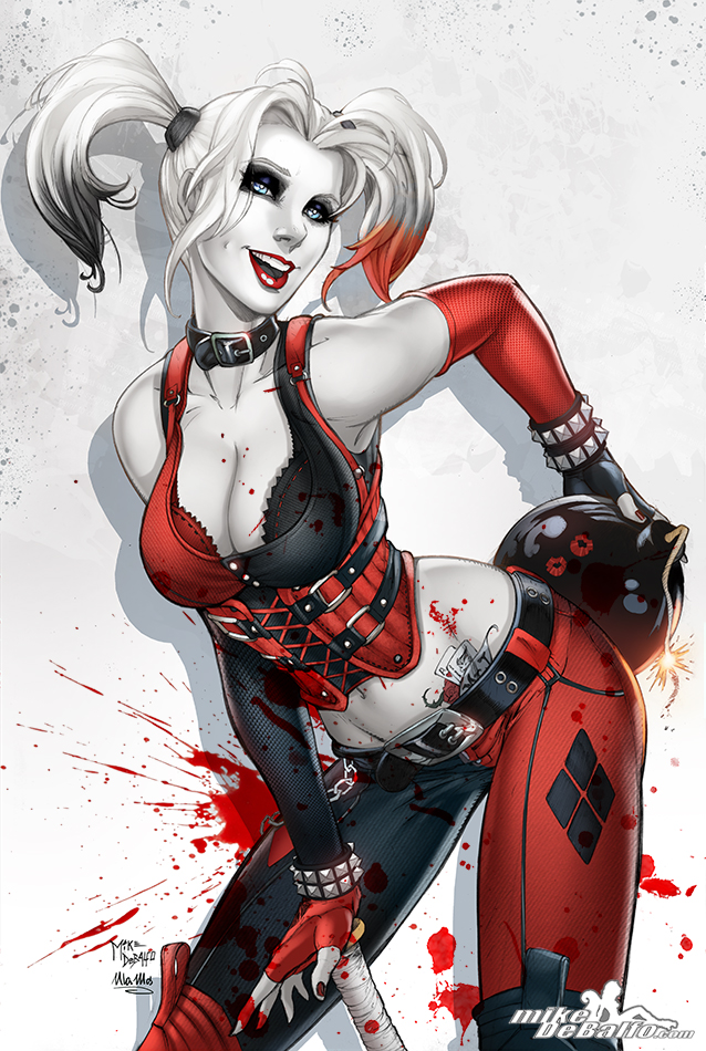 Harley Quinn by SquirrelShaver