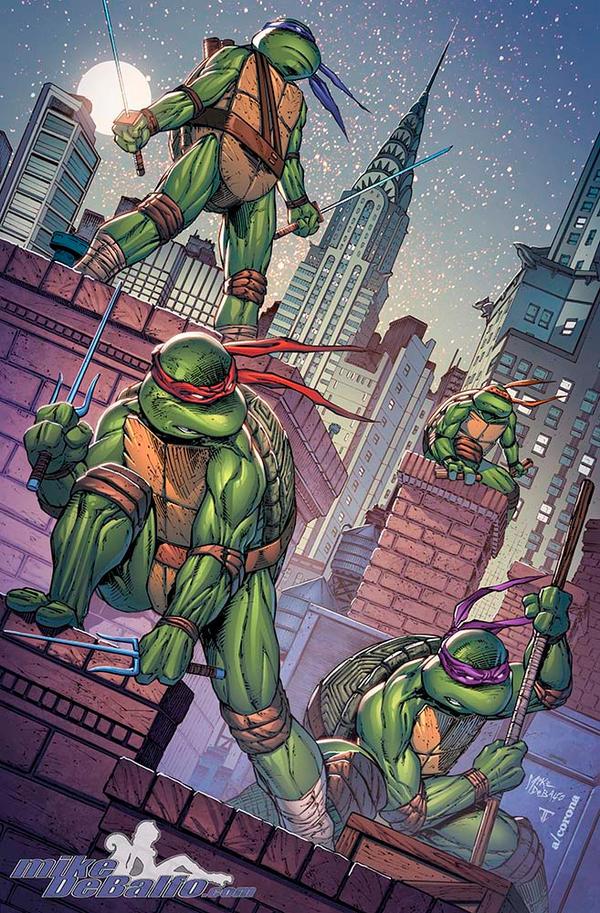 Teenage Mutant Ninja Turtles - NYCC by SquirrelShaver