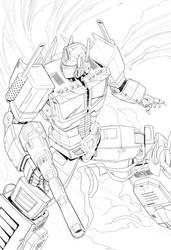 Optimus Prime (High Res)