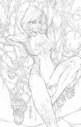White Widow #2 by SquirrelShaver