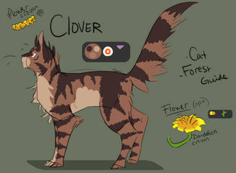 Clover Reference by Chilliechee