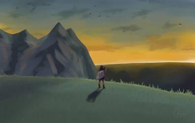 The Rising Sun - BotW by Chilliechee
